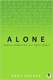 Book cover for Alone