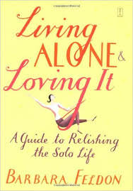 Book cover for Living Alone and Loving It